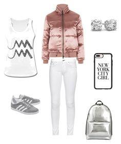 """Rose City outfit"" by esmeralda72 on Polyvore featuring Mode, Topshop, rag & bone, adidas Originals, 3.1 Phillip Lim und Casetify"
