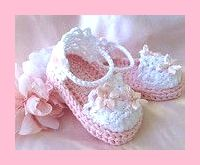 Baby Girl Sandals in Pink Crochet Baby Girl Booties Cotton pink and white baby s. Baby Girl Sandals in Pink Crochet Baby Girl Booties Cotton pink and white baby sandals with satin flowers and pearls Booties Crochet, Crochet Baby Sandals, Baby Girl Crochet, Crochet Baby Clothes, Crochet Shoes, Crochet For Kids, Baby Girl Sandals, Pink Sandals, Girls Sandals
