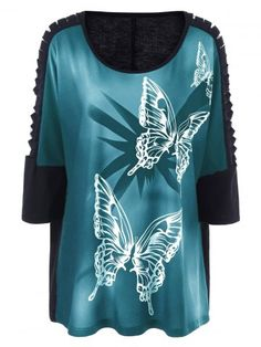 GET $50 NOW | Plus Size Butterfly Print Ripped Long T-ShirtFor Fashion Lovers only:80,000+ Items • New Arrivals Daily • FREE SHIPPING Affordable Casual to Chic for Every Occasion Join RoseGal: Get YOUR $50 NOW!http://www.rosegal.com/plus-size-t-shirts/plus-size-butterfly-print-ripped-1094362.html?seid=i9vdg77dk563p8mnm829f6pda1rg1094362