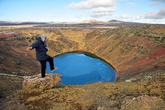 Iceland, Kerid crater