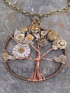 Tree of Life. gears instead of beads? brilliant