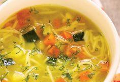 Supă de legume cu fidea