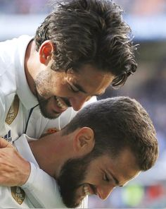 Isco y Nacho real madrid