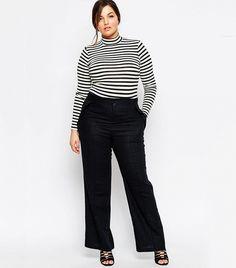 ba8c1c43e9d81 ASOS Curve Linen Pants Linen Pants Outfit