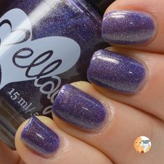 """Ellagee """"The Purple One"""" www.colorfulcrack.com"""