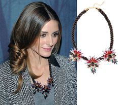 Find Out Where to Buy Olivia Palermo's $42 Necklace: We'll forgive you for thinking Olivia Palermo's outstanding style requires a hefty bank account (though we now have the photographic proof that it DOES require a whole lot of suitcases).