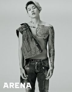 jay park arena homme+ november 2015 photoshoot