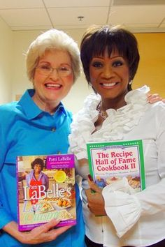 I n May of I was privileged to be on the same QVC show with Patti LaBelle. We became instant friends! She had a cookbook that address. Patti Labelle Cookbook, Patti Labelle Recipes, Happy Dance, Cookbook Recipes, Qvc, Go Shopping, Letting Go, Foods, Lady