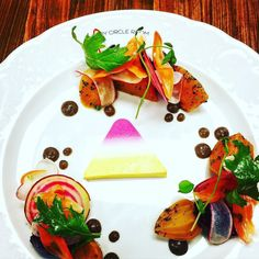 """#cherrycircleroom beet salad. Thanks @zagat for rating us in the """"8 most…"""