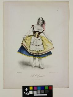 Célestine Emarot was a soloist at the Paris Opera and the mother of the talented Emma Livry, the dancer who was tragically burned to death when her costume caught fire in 1860.