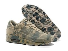 Extravagant Nike Air Max 90 VT Black And White Camouflage
