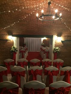 wedding ceremony seating for 60 guests