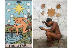 Watch These Haitian Artists Transform Themselves Into Living Tarot Cards