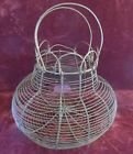 Antique Early Wire Egg Basket   Barn Find