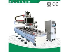 3 AXIS SINGLE ARM MACHINE CENTER RC1434SA   homemade cnc router  tabletop cnc router  http://www.roc-tech.com/product/product49.html