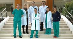 Nice photo of the staff of HC Fertility Center in Marbella Spain!