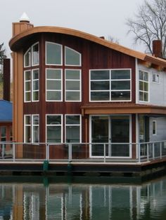 Houseboat Living Floating House Affordable Housing Boat Tiny Dream