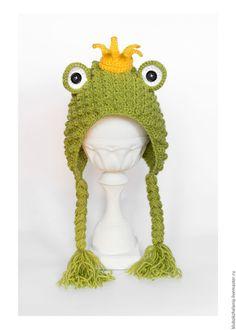 """Купить Шапочка """"Лягушонок"""" для фотосессии новорожденного - шапочка для фотосессии, шапочка для новорожденных, шапочка для малыша"""