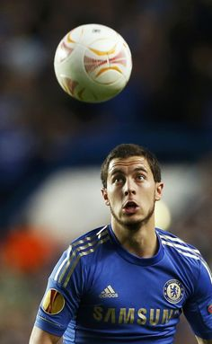 Eden Hazard <3 Chelsea 3 - 1 Basel. UEL Semifinal 2nd leg. May 2, 2013.