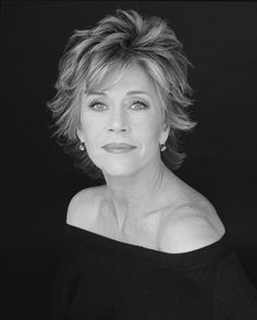 Jane Fonda, Actor, mother, entrepreneur...One of my idols, still looks amazing and is amazing!!!