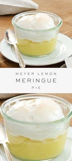 Potluck Desserts, Make Ahead Desserts, Lemon Desserts, Delicious Desserts, Dessert Recipes, Mini Lemon Meringue Pies, Lemon Meringue Cheesecake, Lemon Pie Recipe, Lemon Recipes