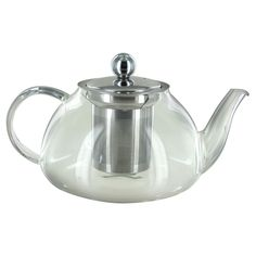 Glass Kettle with Stainless Steel Infuser - 27oz