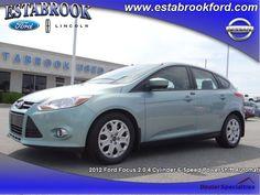 2012 Ford Focus, 43,408 miles, $14,800.