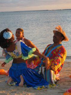 Sega dancing in Mauritius