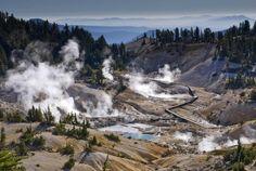 Лассен-Волканик – национальный парк на северо-востоке Калифорнии. Эта область является частью Каскадных гор, но, вместе с тем, парк оче...