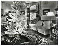 1944 Christmas ~ fun to look at what people did then