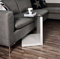 AC Design Furniture 49008 Beistelltisch Michel, Klarglas, Ca. 40 X 50 X 35