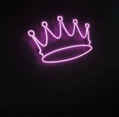 New Crown Purple Bar Pub Wall Decor Acrylic Neon Light Sign 14"