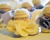 Angioletti di pannolenci #Christmas #diy #handmade #craft #Angel #felt