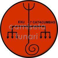 ponto riscado exu 7 CATACUMBA by camiseta-funari