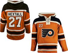 Ron Hextall Flyers hoodie by Old Time Hockey