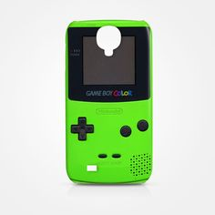 NEW Game Boy Color Green Samsung Galaxy S4 S IV Case Cover Game Boy Cool Green