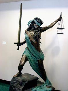 Statue of Justice via Emerging Scholars (Justice)