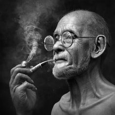 Made with Autodesk Arnold modeling and animation software - Old Man Smoking - Film & VFX - Character, Rendering, Modeling - Autodesk AREA Gallery - 1 Black And White Photography Portraits, Smoke Photography, Portrait Photography Men, Black And White Portraits, Photography Outfits, Photography Composition, Photography Studios, Photography Backdrops, Photography Tips