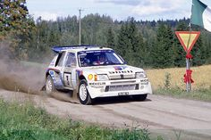 1985 Timo Salonen wins Peugeot's first World Rally Championship