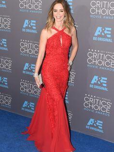 Emily Blunt no Critics' Choice Awards