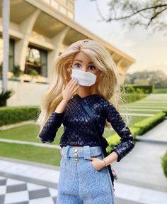 Barbie Kids, Bad Barbie, Barbie Model, Barbie Doll House, Barbie Stuff, Diy Barbie Clothes, Girls Fashion Clothes, Fashion Dolls, Barbie Wedding Dress