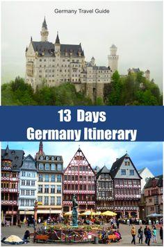 13 Days Germany Itinerary - Frankfurt, Munich, Berchtesgaden, Nuremberg