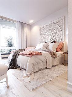 Elegant bedroom decor; Immy and Indi