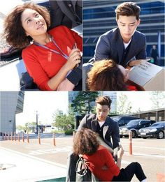 Hwang Jung Eum and Park Seo Joon get touchy in stills for 'She Was Pretty' | allkpop.com