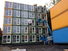 Cheap container homes 40 foot shipping container for ft shipping container homes for sale container home designs and prices,containers to live in luxury shipping container home plans. Container Home Designs, Cargo Container Homes, Container Buildings, Container Architecture, Modern Architecture House, Tiny House Village, Tiny House Cabin, Used Shipping Containers, Shipping Container Homes