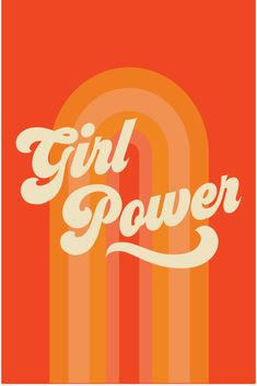 Girl Power Art Print - femundo presents books and films in which women can be complex – just like in real life! Photo Wall Collage, Picture Wall, Lettering, Orange Aesthetic, Aesthetic Girl, Aesthetic Pastel, Aesthetic Grunge, Aesthetic Vintage, Happy Words
