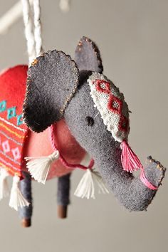 Stitched Nomad Ornament - anthropologie.com