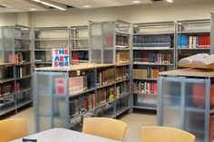 Image result for library shelving