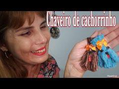 Chaveiro de cachorrinho de lã ou linha - YouTube Paper Crafts For Kids, Christmas Crafts For Kids, Hobbies And Crafts, Diy For Kids, Easy Craft Projects, Easy Crafts, Paper Fruit, Fruit Crafts, Crafty Kids