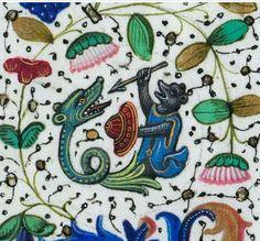 Libro de horas de Leonor de la Vega [Manuscrito] Publicación: S.XV. El códice fue remitido desde Bruselas por D. Diego Ramírez de Villaescusa, embajador en Flandes (1498), al padre del poeta Garcilaso de la Vega, embajador en Roma; después estuvo en poder de su hermana, Doña Leonor de Vega, según nota moderna en h. 1. Las pinturas atribuidas por Durrieu al miniaturista flamenco Guillermo Vrelant Libro en formato digital: http://bdh.bne.es/bnesearch/detalle/1732604